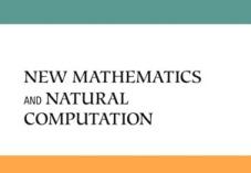 New Mathematics and Natural Computation