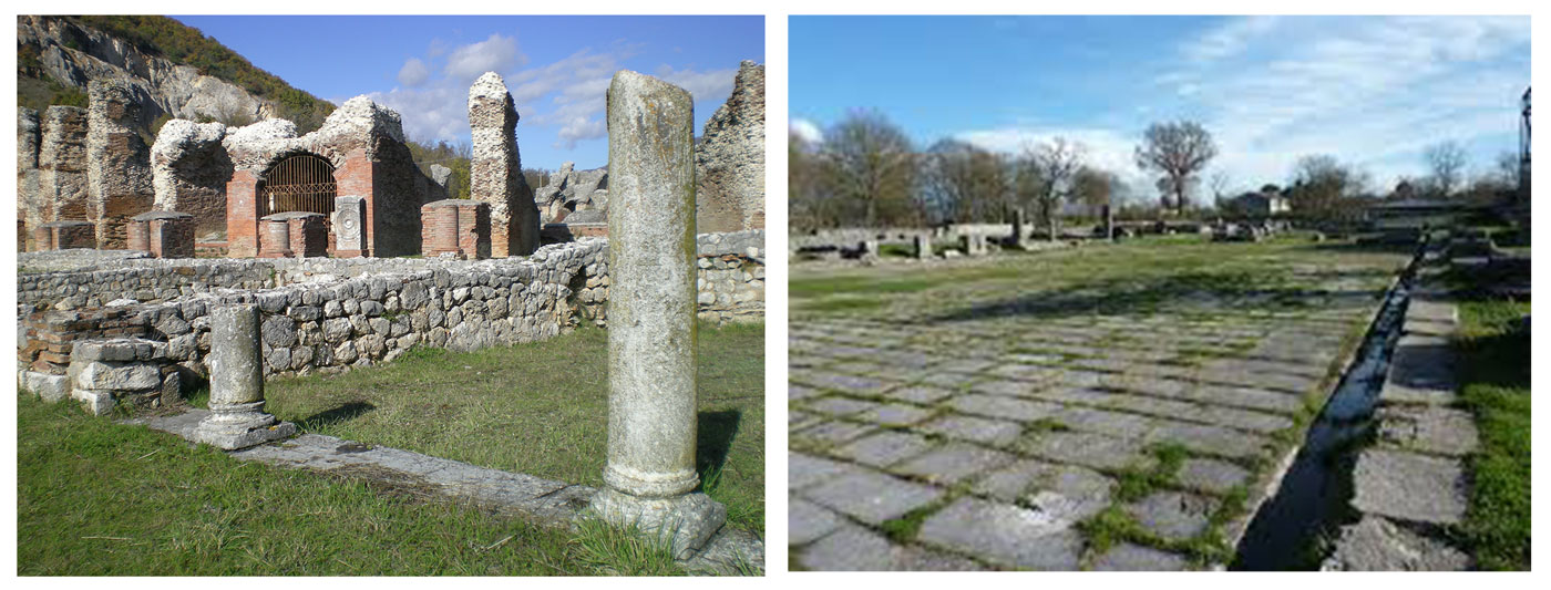 Roman ruins of Amiternum: ruins of an Ancient Roman city